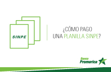 ¿Cómo pago una planilla por medio de transferencia SINPE?