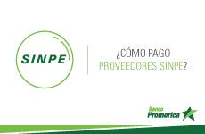 ¿Cómo pago proveedores por medio de transferencia SINPE?